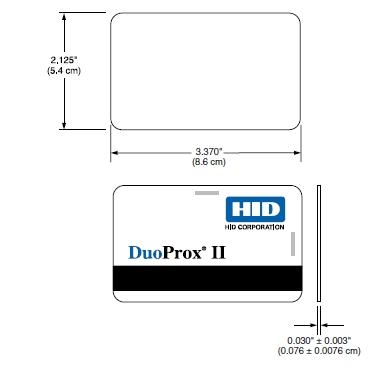 carte hid duoprox ii 125khz avec bandeau magn tique hico 4000oe ger 39 facilities. Black Bedroom Furniture Sets. Home Design Ideas